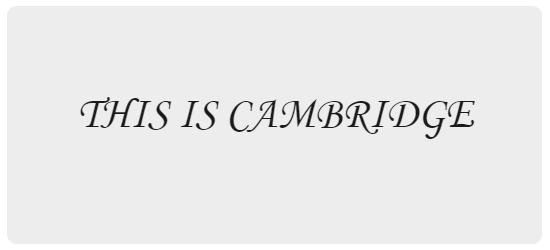 Cambridge text 8