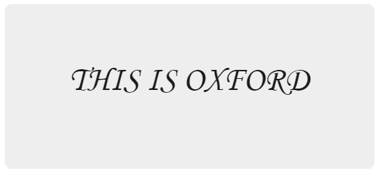 Oxford text 8
