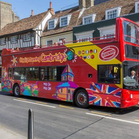 Bus tour Cambridge